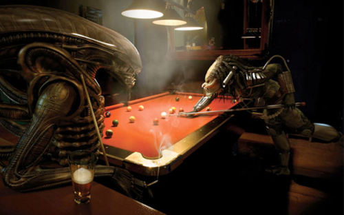 AvP, corner pocket!