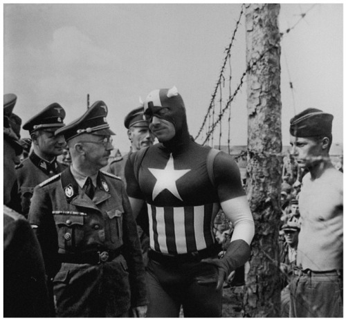 alfff:  Superheroes and Villains in Historical Pictures