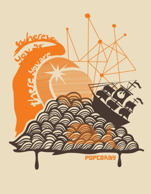Now at industtrees: Wherever You Go There You Are by Popcorny.