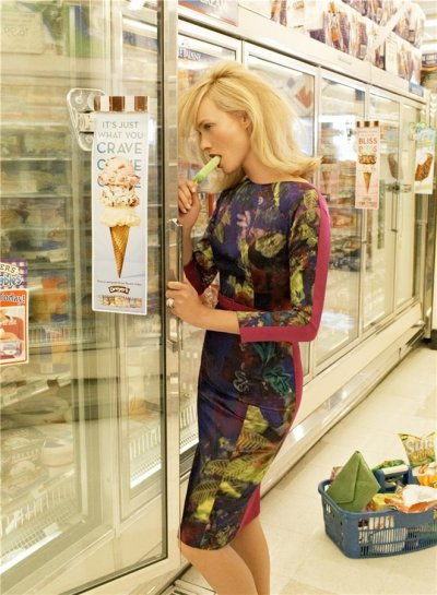 "Amber Valletta • Vogue US, ""2-for-1 Special"", September 2008"