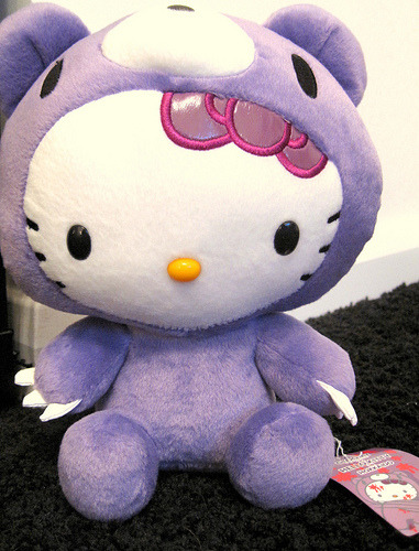 hello kitty x gloomy bear hokkaido plush (by Taliebum)