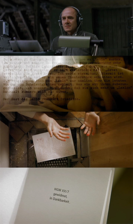 Oscars in frames! Das Leben der Anderen (The Lives of Others), 2006 (dir. Florian Henckel von Donnersmarck) [Best Foreign Movie 2007] By funsizedcherryripe