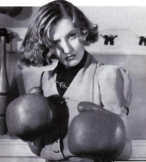 Barbara Stanwyck in the 1930s Does anybody know where this picture is from? Thanks to an anonymous messenger on Tumblr - this is from Breakfast for Two (1937).