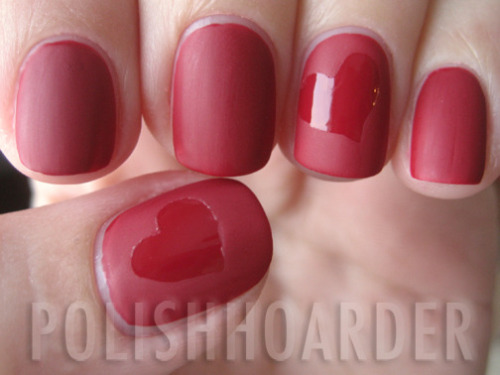fuckyeahnailart:  Polish Hoarder Disorder (PHD): Valentine's Ideas (This is long!)