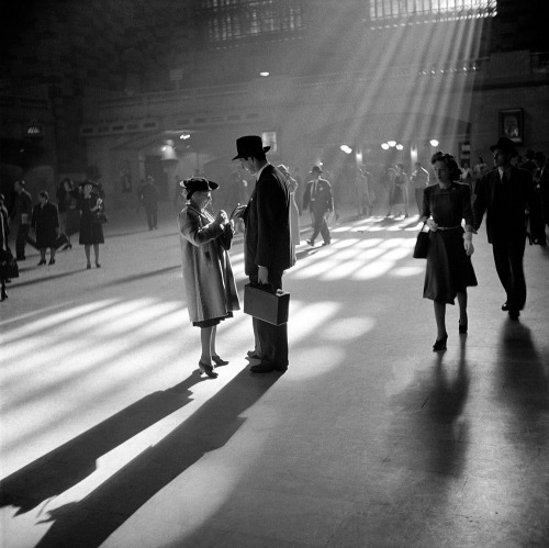 Grand Central Terminal, New York City, October 1941. Photograph by John Collier Jr.
