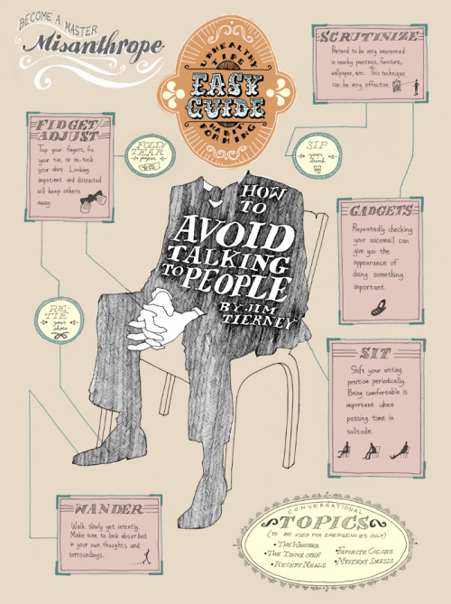 importante pafurada:  how to avoid talking to people - jim tierney arsenico // jaune // scantmusic // tender