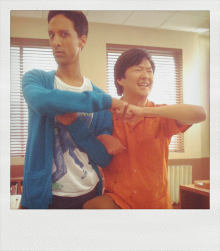 Abed and Señor Chang <3