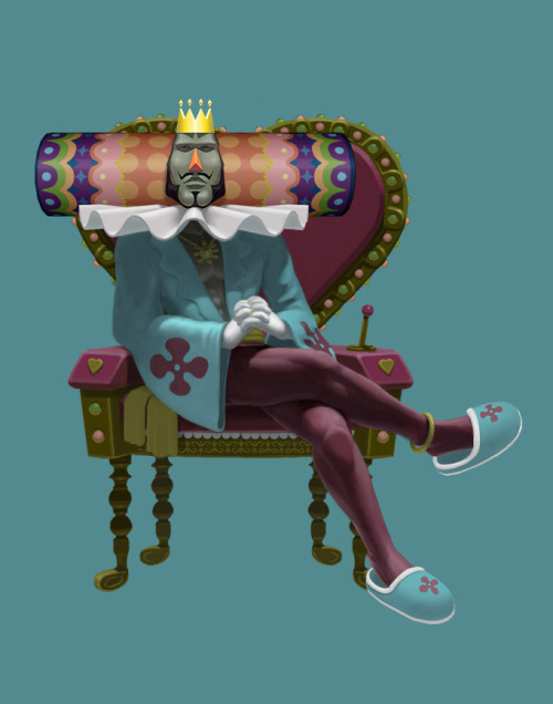 videogamesmademegay:  The fancy man in repose. (Via abobobo.)