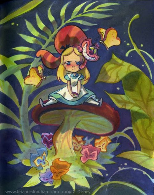 fuckyeahwonderland:  chopa:  Alice in WonderBread Land | by Brianne Drouhard
