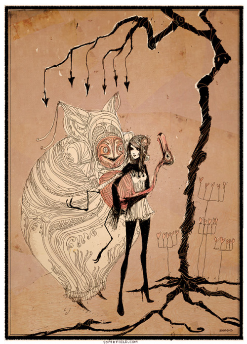 [alice in wonderland by barnaby ward. <3]