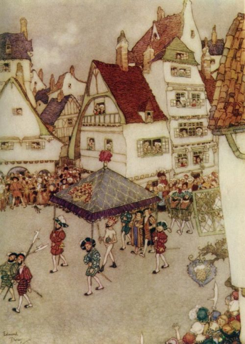 The Emperor's New Clothes - Edmund Dulac art print
