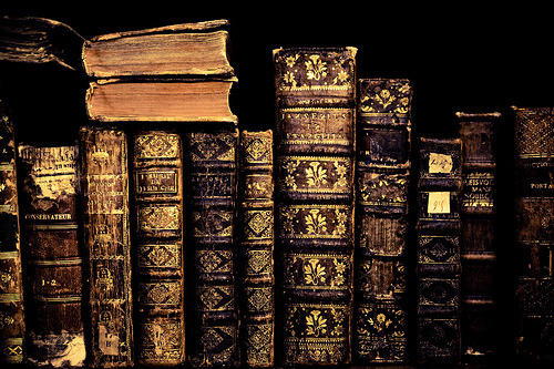 gentlemandeerlord:  darkface:  booklover:  Old Books (via aravis121)
