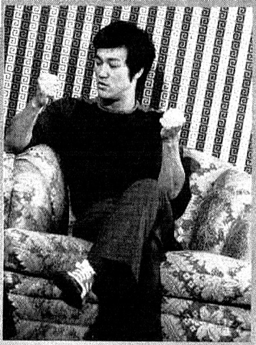 """Simplicity is the key to brilliance"" — Bruce Lee"
