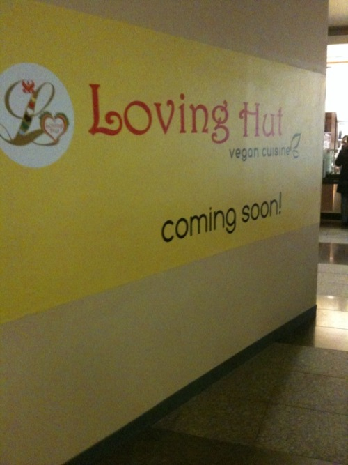 As previously reported, a Loving Hut is coming to Union Square. Lo and behold, that fucker is in Westfield Mall. One shopping spree at H&M followed by vegan feast at delicious cult restaurant, coming up! [Thanks for the pic, Tessa!]