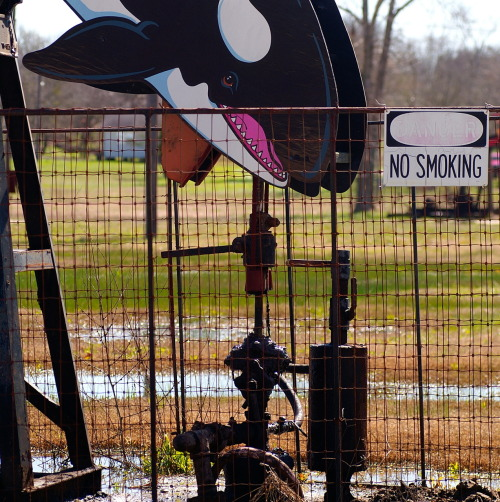 Decorated Pumpjack