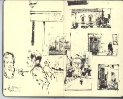 sketchbook stuff from france - 6