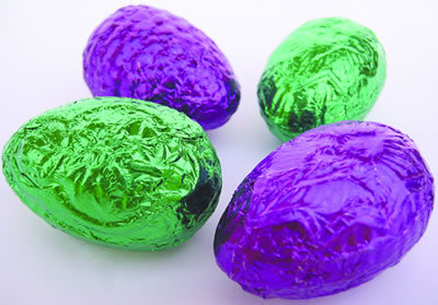 "Buy some g-d vegan ""Cadbury"" creme eggs. You have to get them shipped from England and must buy a minimum of twenty-five bucks worth (plus international shipping!) but fools, I HAD SAID VEGAN CADBURY CREME EGGS. [Hat tip, Vegan Porn!]"