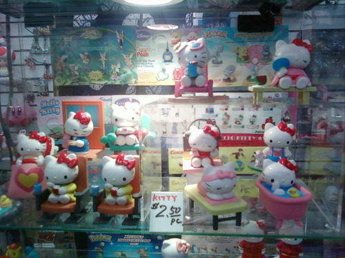 Hello Kitty Figures!  Submitted by jayjaystarr