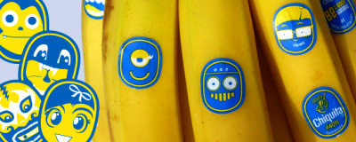 'Chiquita's latest ad campaign imbues its audience with an instant sense  of wonder. Using playful illustrations on stickers juxtaposed to the  iconic Chiquita stickers, the product and brand become more engaging to  the consumer—plus they just look cool.'  Read an interview with the designer DJ Neff, here.