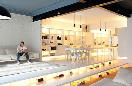 Loft Koka, Antwerp - Belgica by SCULP(IT) (via Archinect)