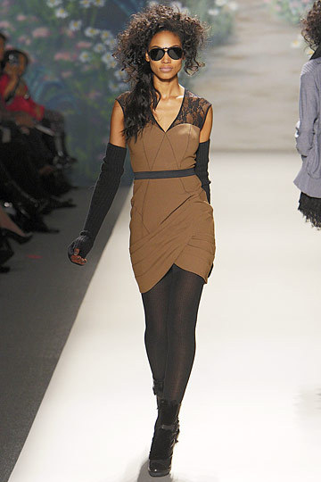 Ariel Meredith at Tracy Reese F2010