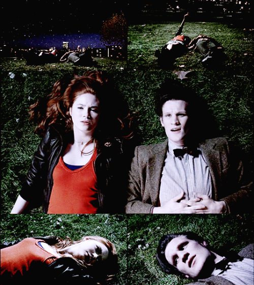 teamelevenftw:  lisztomania:   AMY POND: Who are you?ELEVEN: I'm the Doctor.AMY POND: Doctor who? — Doctor Who Series 5 Trailer     man, this was actually the most adorably shippy thing ever. moffat, you tease.