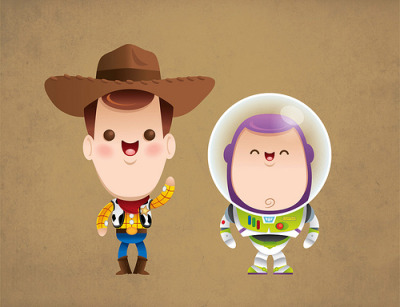 jmanzur:  Kawaii Toy Story