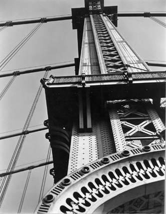 Manhattan Bridge Looking Up, 1936 Berenice Abbott