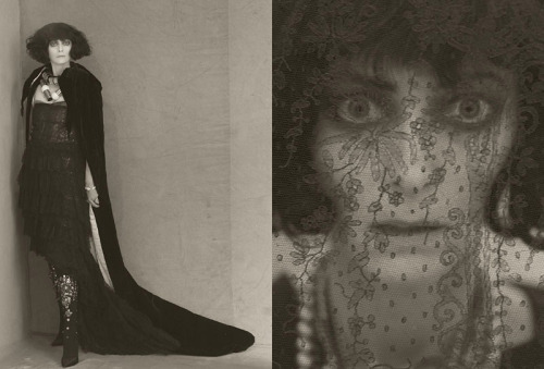 garconniere:  calivintage:  Tilda Swinton as the Marchesa Luisa Casati  AAAAAAAAAHHHHHH SO GOOD.  Paolo Roversi for Acne Paper Sweden. Swoon.