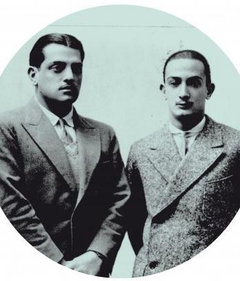 "pabloneruda:  oldhollywood:  Luis Buñuel & Salvador Dali, circa 1930 Impress that special surrealist girl in your life*: ""As a young man, [Salvador] Dali was totally asexual, and forever making fun of friends who fell in love or ran after women - until the day he lost his virginity to Gala & wrote me a 6-page letter detailing, in his own inimitable way, the pleasures of carnal love. (Gala's the only woman he ever really made love to. Of course, he's seduced many, particularly American heiresses; but those seductions usually entailed stripping them naked in his apartment, frying a couple of eggs, putting them on the woman's shoulders, and, without a word, showing them to the door.)"" -excerpted from Luis Buñuel's autobiography, My Last Sigh *Remember to allow eggs to cool for at least 2 minutes before applying"