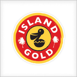 Island Gold - Logo design for game