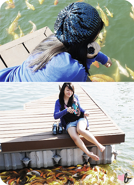 LOOKBOOK.nu: one particularly blue monday with the koi