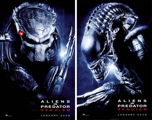 AVP: Requiem movie posters | joblo.com from joblo.com via iwatchstuff.com