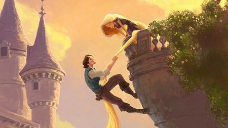 Trailer for Disney's Tangled Leaks Online | Latino Review A trailer for Disney's continued return to traditional animation Tangled (previously known as Rapunzel) has leaked online. The trailer is in the preliminary stages and looks to be made up of computer renderings, story board sketches, and unlicensed pop music. As far as Disney animation goes it's more of the same: over the top hijinks, anthropomorphized lizard sidekick, gender stereotypes, and general appeal to little girls. I'll make a better judgement call when a proper trailer debuts but right now I'm not optimistic.