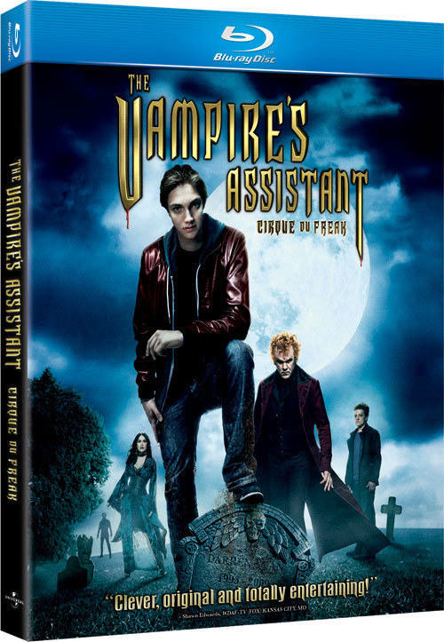 "Initially, Meg and I were going to see Cirque du Freak: The Vampire's Assistant in theatres. Due to lackluster reviews and lack of expendable money, we opted to just wait to see it when it came out. We weren't disappointed though. I think I can speak for both of us when I say that it was actually a fun film. It isn't about to win any Oscars or change modern film-making, but overall it was just fun. It's hard to take John C. Reilly seriously in this film, but I think it wasn't suppose to be serious at all. There definitely were a lot of campy scenes and atrocious dialogue, but I'm certain that it was intentional. I thought that some of the special effects were well-done, and there were a couple of really good lines in it. Overall, I think it'd be worth checking out if you liked ""Lemony Snicket"" or some elements of the ""Harry Potter"" series."