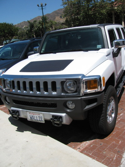 Your Hummer does not look like an adorable Pixar robot.