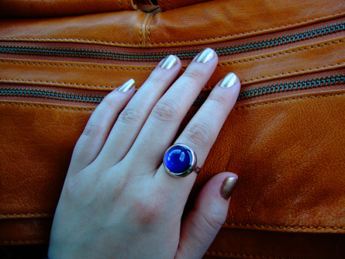 distractionsoflola:  new nail color, 'gilty pleasure'