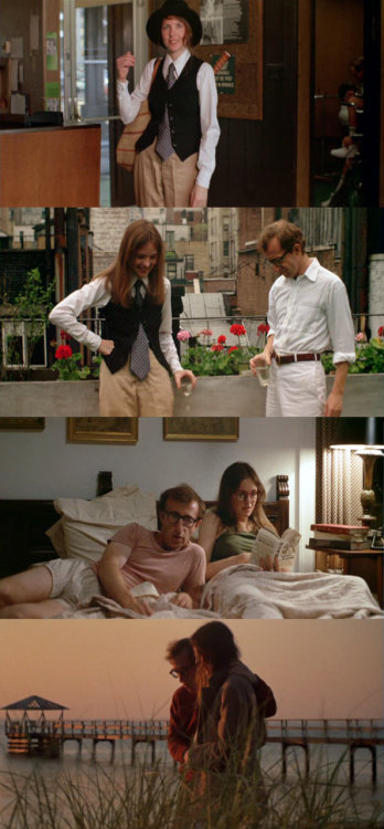 Oscars in Frames! Annie Hall, 1977 (dir. Woody Allen) [Best Picture/Best Director 1978] Submitted by Behindthescreen