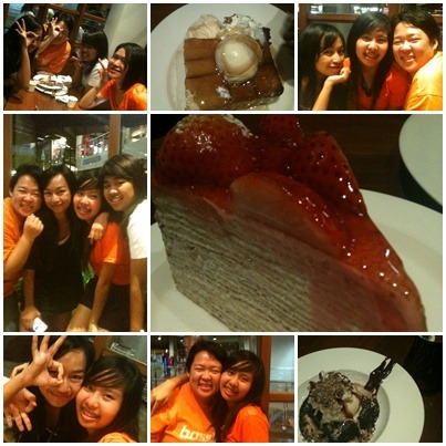 "pumpkin-eiat:  @ After Anuchyd….So happy and Yummy (^^)* Love u all and always na ka :) ""May the WERN b vit us"" haha   Wowwwwwwww ^[]^~ พวกเราน่ารักเนอะ อร่อยมากกกกกกกกกกกก 555"