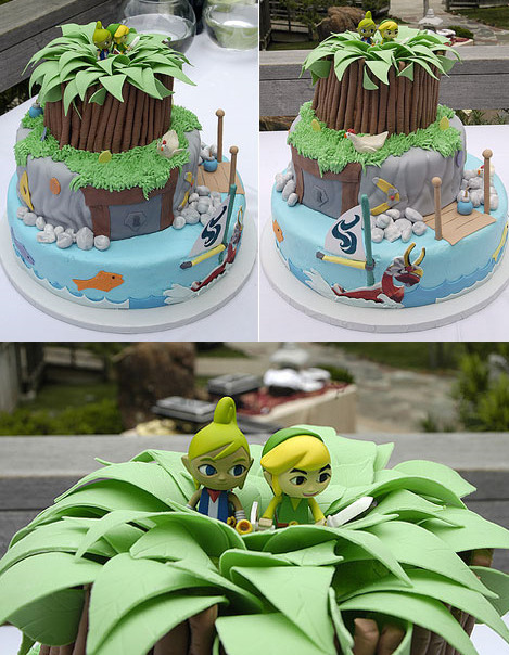 juliasegal:  Zelda Cake