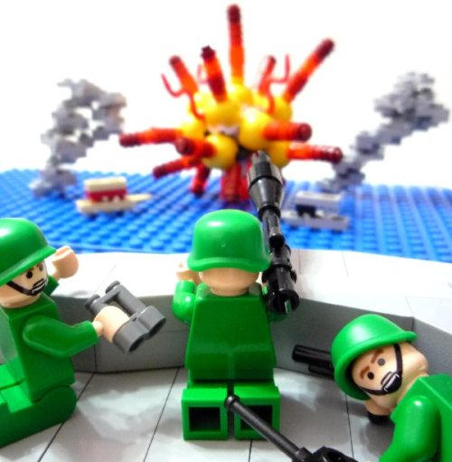 LEGO smoke and explosion by RMingTW on Brickshelf Gallery