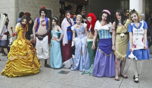 Disney Zombies via Bleeding Cool
