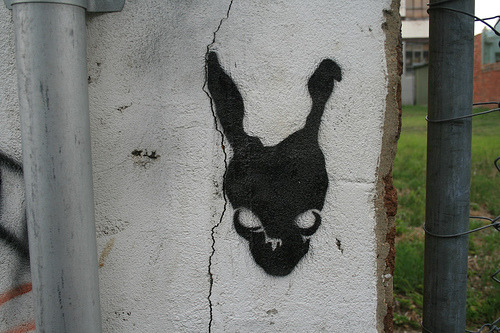To this day, Donnie Darko is one of the scariest movies I've ever seen.