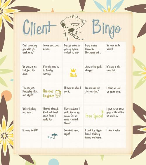 Client Bingo