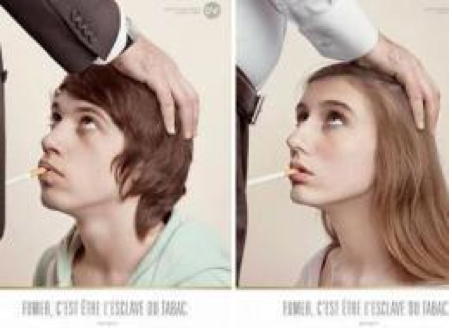 French 'Oral Sex' Anti-Smoking Ad Sparks Scandal A provocative anti-smoking ad campaign featuring teens in a subservient sexual position has sparked a storm of controversy in France, with the country's family minister calling Wednesday for the advertisements to be banned. continue reading… huffpost
