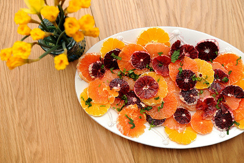 teddybearhugs:  citrus salad with cilantro and mint  MIND: BLOWN