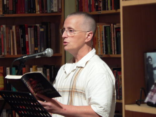 "fuckyeahtrannies:  pansexualpride:  Leslie Feinberg Political organizer, grassroots historian, and writer Leslie Feinberg is a pioneer of transgender activism and culture. Long a part of the struggle for queer liberation, Feinberg openly identifies as transgendered and has been outspoken about ""hir"" experiences living outside of the gender binary. (""Ze"" has expressed the need for our language to incorporate alternate pronouns such as ""hir"" rather than ""her"" or ""his,"" and ""ze"" or ""sie"" as opposed to ""he"" or ""she."") Feinberg is perhaps best known as the author of the widely acclaimed novel Stone Butch Blues (Firebrand Books, 1993). In response to the common assumption that the novel is semi-autobiographical, ze has stated that the book is a work of fiction. Ze has gone on to explain that ze chose to write from a first-person point of view in light of the limitations using third-person pronouns would have imposed upon the narrative. The deeply moving novel is already regarded as a classic, and rightly so. It has won both an American Library Association Award for Gay and Lesbian Literature and a 1994 Lambda Literary Award. In addition to Stone Butch Blues, Feinberg has published two nonfiction books: Transgender Warriors: Making History from Joan of Arc to RuPaul (Beacon Press, 1996), which won a Firecracker Alternative Book Award for Nonfiction in 1996, and Trans Liberation: Beyond Pink or Blue (Beacon, 1998). Feinberg has been especially vigilant in hir writings about documenting the otherwise ignored contributions to history various oppressed groups have made. Hir nonfiction works explore not only transgender issues, but the crucial relationships and parallels among the women's, people of color's, and queer rights movements. In addition to hir writing career, Feinberg is also a leader of the Workers World Party, an independent Marxist organization, and a managing editor of its newspaper. Ze co-founded Rainbow Flags for Mumia—a coalition of GLBTQ people calling for a new trial for political prisoner Mumia Abu-Jamal—and organizes with the International Action Center, an activist group that resists war, corporate greed, and oppression. Feinberg has spoken publicly about a serious illness ze survived in the 1990s, during which ze nearly died due to the discriminatory treatment ze received from doctors. Feinberg has shared the experience to illustrate the dire need for better understanding of trans health issues and needs among the medical establishment. Feinberg is currently at work on another novel, as well as a nonfiction book on trans health issues and an essay collection. Ze lectures widely at colleges and universities, speaks at Pride marches, and has given numerous keynote speeches at various transgender events. Feinberg and hir wife, poet Minnie Bruce Pratt, live outside of New York City. http://www.glbtq.com/literature/feinberg_l.html"