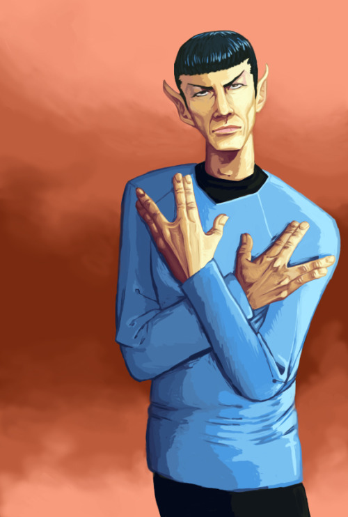 gamefreaksnz:  Straight Outta Vulcan by ~tetsuoshima on deviantART  Spock is hardcore…