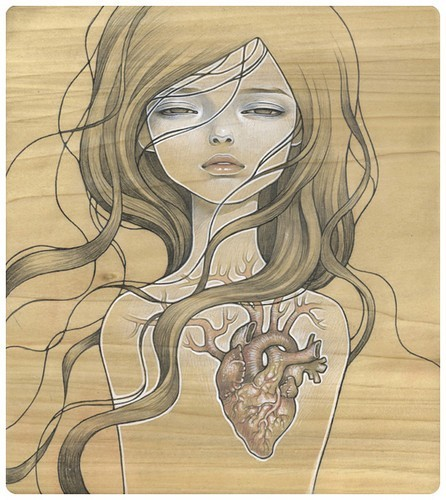 artist: audrey kawasaki exposed: adjective • /ik-spohzd / • left or being without shelter or protection.  *see below