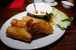 Bay Ting, 318 Victoria Road, Marrickville Flick - Fried Spring Rolls I honestly think these are the best spring rolls i've ever had, i think this every time i visit, they're wonderful! Price: $10ish Deliciousness Rating - 10/10 (i know i've given alot of 10/10s but i try only to blog yummy food and really think they deserve the 10)